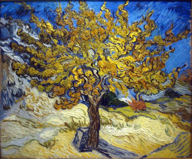 Mulberry Tree - Vincent van Gogh - WikiPaintings.org